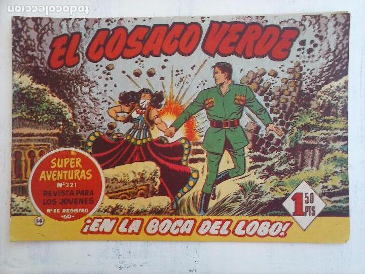 Tebeos: EL COSACO VERDE COMPLETA ORIGINAL Y SUELTA - 1 AL 144 , MAGNÍFICO ESTADO, VER TODAS LAS PORTADAS - Foto 158 - 94629439