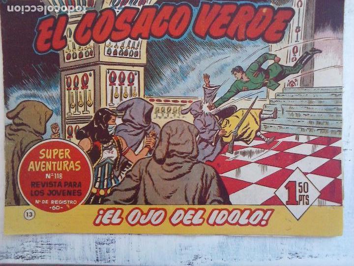Tebeos: EL COSACO VERDE COMPLETA ORIGINAL Y SUELTA - 1 AL 144 , MAGNÍFICO ESTADO, VER TODAS LAS PORTADAS - Foto 159 - 94629439