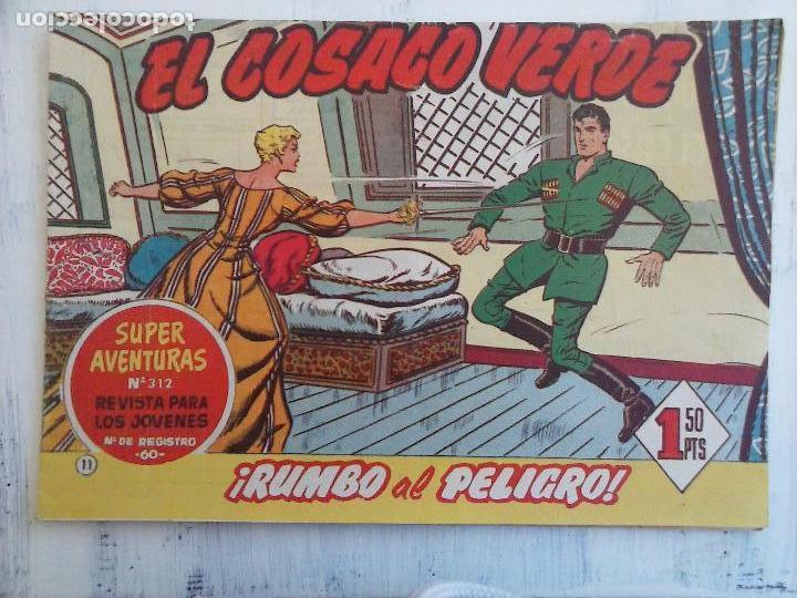 Tebeos: EL COSACO VERDE COMPLETA ORIGINAL Y SUELTA - 1 AL 144 , MAGNÍFICO ESTADO, VER TODAS LAS PORTADAS - Foto 161 - 94629439