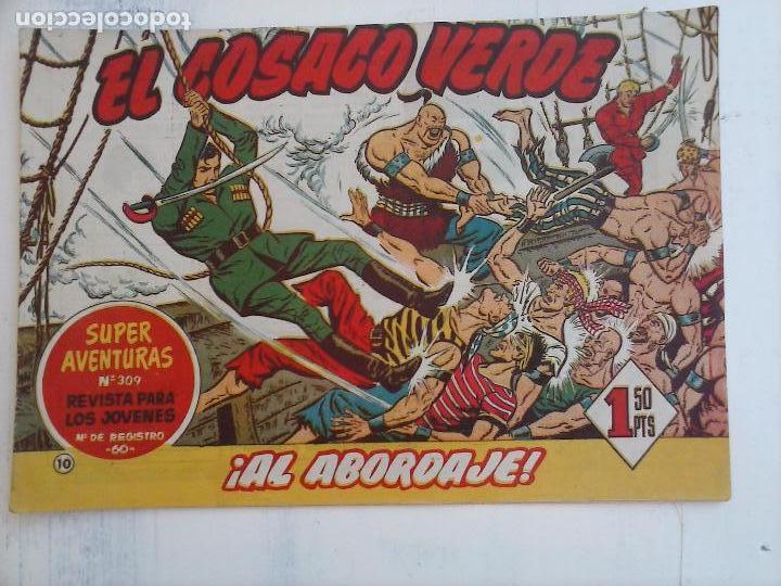 Tebeos: EL COSACO VERDE COMPLETA ORIGINAL Y SUELTA - 1 AL 144 , MAGNÍFICO ESTADO, VER TODAS LAS PORTADAS - Foto 162 - 94629439