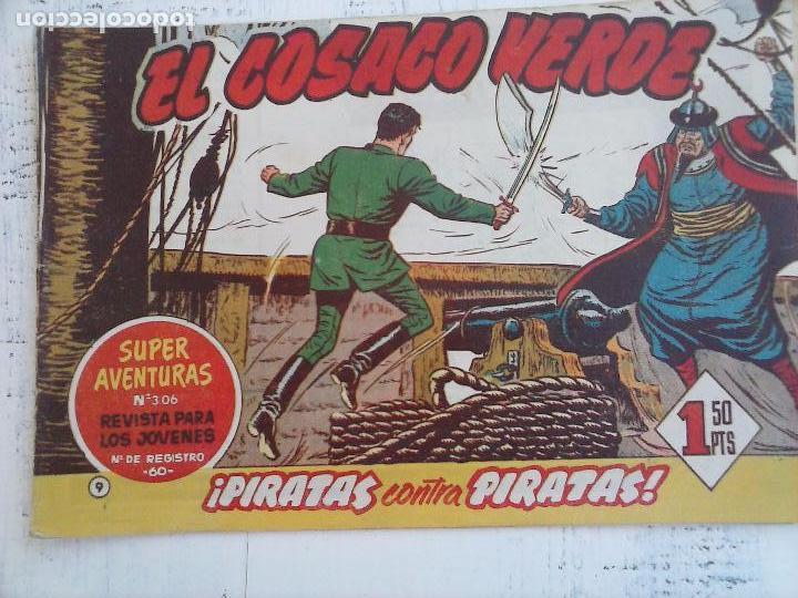 Tebeos: EL COSACO VERDE COMPLETA ORIGINAL Y SUELTA - 1 AL 144 , MAGNÍFICO ESTADO, VER TODAS LAS PORTADAS - Foto 163 - 94629439