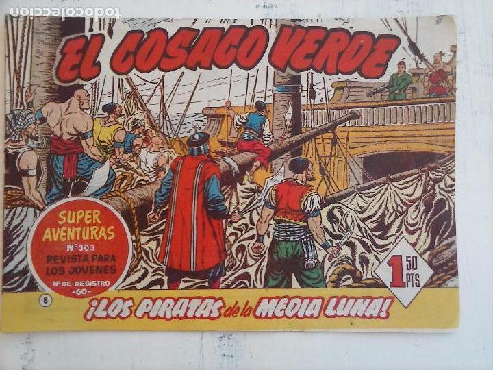 Tebeos: EL COSACO VERDE COMPLETA ORIGINAL Y SUELTA - 1 AL 144 , MAGNÍFICO ESTADO, VER TODAS LAS PORTADAS - Foto 164 - 94629439