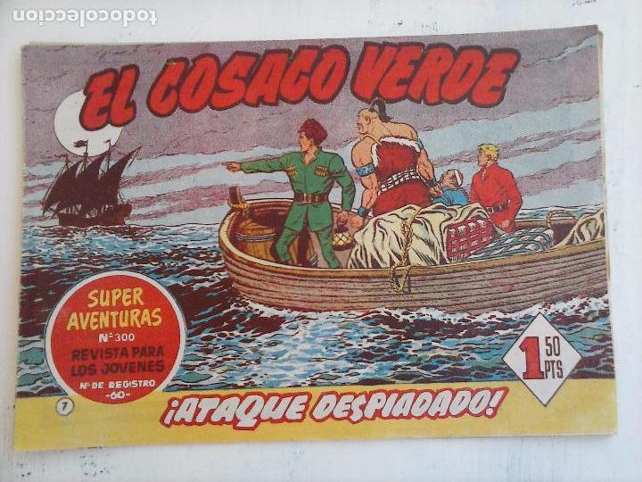 Tebeos: EL COSACO VERDE COMPLETA ORIGINAL Y SUELTA - 1 AL 144 , MAGNÍFICO ESTADO, VER TODAS LAS PORTADAS - Foto 165 - 94629439