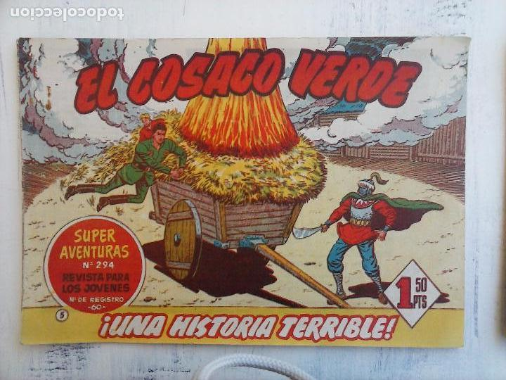 Tebeos: EL COSACO VERDE COMPLETA ORIGINAL Y SUELTA - 1 AL 144 , MAGNÍFICO ESTADO, VER TODAS LAS PORTADAS - Foto 167 - 94629439