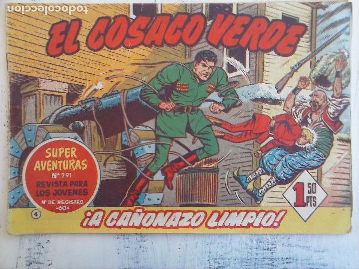 Tebeos: EL COSACO VERDE COMPLETA ORIGINAL Y SUELTA - 1 AL 144 , MAGNÍFICO ESTADO, VER TODAS LAS PORTADAS - Foto 168 - 94629439
