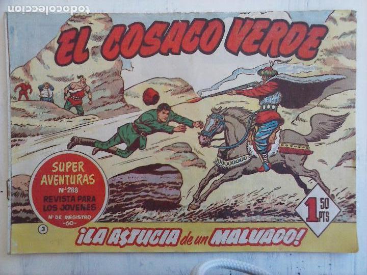Tebeos: EL COSACO VERDE COMPLETA ORIGINAL Y SUELTA - 1 AL 144 , MAGNÍFICO ESTADO, VER TODAS LAS PORTADAS - Foto 169 - 94629439