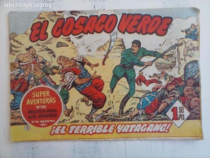 Tebeos: EL COSACO VERDE COMPLETA ORIGINAL Y SUELTA - 1 AL 144 , MAGNÍFICO ESTADO, VER TODAS LAS PORTADAS - Foto 170 - 94629439