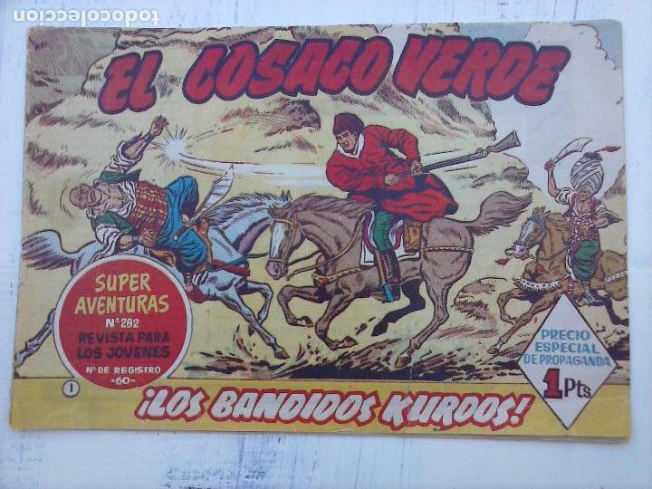 Tebeos: EL COSACO VERDE COMPLETA ORIGINAL Y SUELTA - 1 AL 144 , MAGNÍFICO ESTADO, VER TODAS LAS PORTADAS - Foto 172 - 94629439