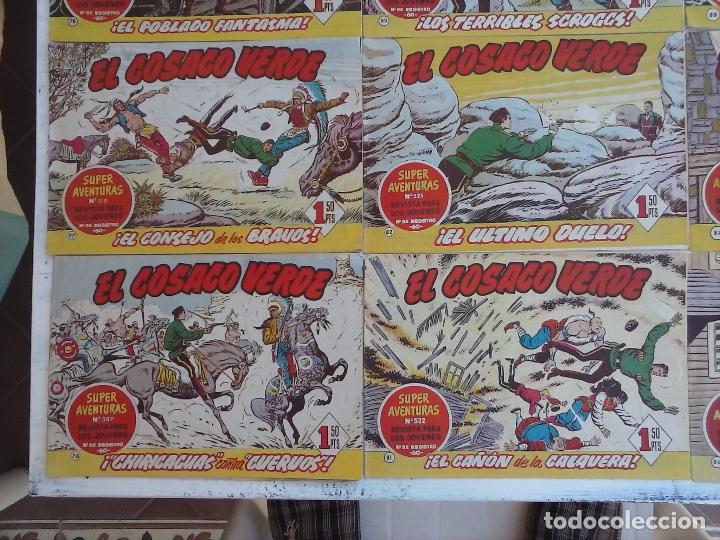 Tebeos: EL COSACO VERDE COMPLETA ORIGINAL Y SUELTA - 1 AL 144 , MAGNÍFICO ESTADO, VER TODAS LAS PORTADAS - Foto 175 - 94629439