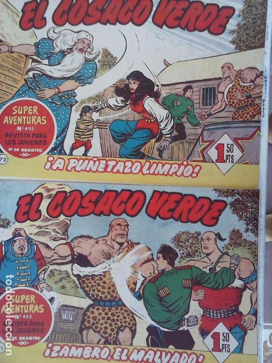 Tebeos: EL COSACO VERDE COMPLETA ORIGINAL Y SUELTA - 1 AL 144 , MAGNÍFICO ESTADO, VER TODAS LAS PORTADAS - Foto 176 - 94629439