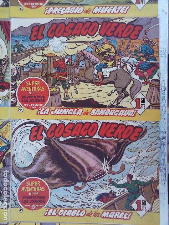 Tebeos: EL COSACO VERDE COMPLETA ORIGINAL Y SUELTA - 1 AL 144 , MAGNÍFICO ESTADO, VER TODAS LAS PORTADAS - Foto 178 - 94629439