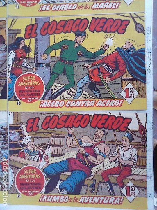 Tebeos: EL COSACO VERDE COMPLETA ORIGINAL Y SUELTA - 1 AL 144 , MAGNÍFICO ESTADO, VER TODAS LAS PORTADAS - Foto 179 - 94629439