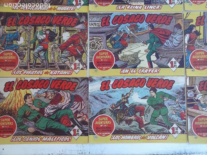 Tebeos: EL COSACO VERDE COMPLETA ORIGINAL Y SUELTA - 1 AL 144 , MAGNÍFICO ESTADO, VER TODAS LAS PORTADAS - Foto 180 - 94629439