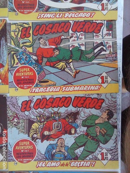Tebeos: EL COSACO VERDE COMPLETA ORIGINAL Y SUELTA - 1 AL 144 , MAGNÍFICO ESTADO, VER TODAS LAS PORTADAS - Foto 181 - 94629439