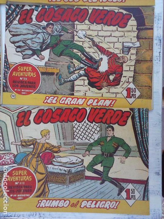 Tebeos: EL COSACO VERDE COMPLETA ORIGINAL Y SUELTA - 1 AL 144 , MAGNÍFICO ESTADO, VER TODAS LAS PORTADAS - Foto 182 - 94629439