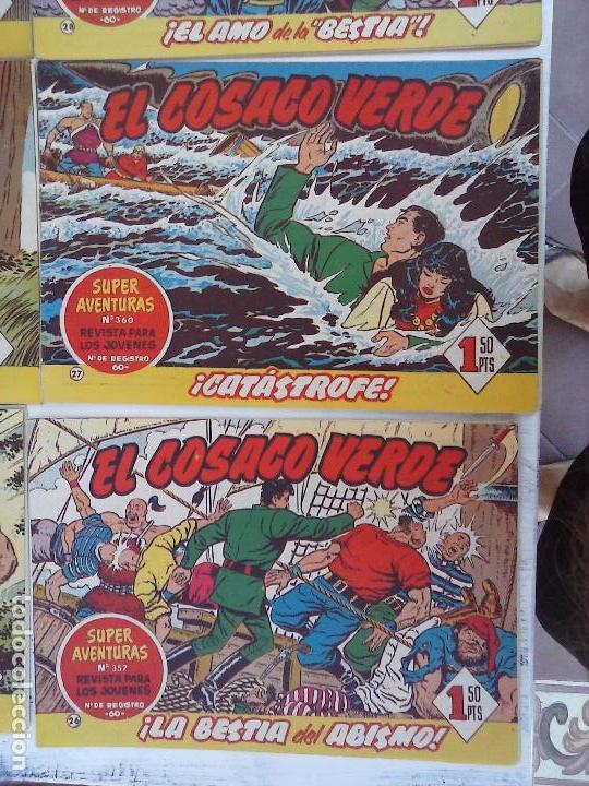 Tebeos: EL COSACO VERDE COMPLETA ORIGINAL Y SUELTA - 1 AL 144 , MAGNÍFICO ESTADO, VER TODAS LAS PORTADAS - Foto 184 - 94629439