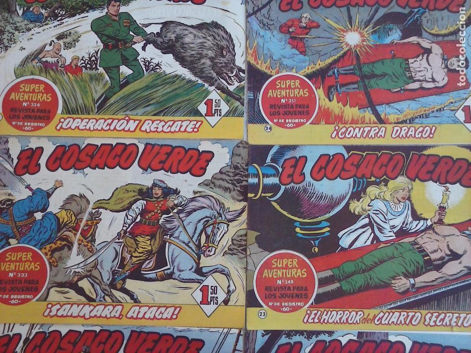 Tebeos: EL COSACO VERDE COMPLETA ORIGINAL Y SUELTA - 1 AL 144 , MAGNÍFICO ESTADO, VER TODAS LAS PORTADAS - Foto 185 - 94629439