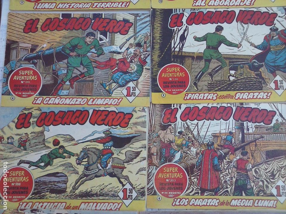 Tebeos: EL COSACO VERDE COMPLETA ORIGINAL Y SUELTA - 1 AL 144 , MAGNÍFICO ESTADO, VER TODAS LAS PORTADAS - Foto 187 - 94629439