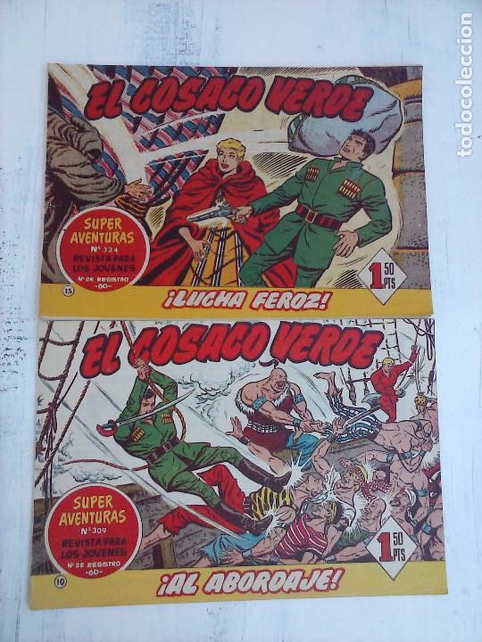 Tebeos: EL COSACO VERDE COMPLETA ORIGINAL Y SUELTA - 1 AL 144 , MAGNÍFICO ESTADO, VER TODAS LAS PORTADAS - Foto 204 - 94629439