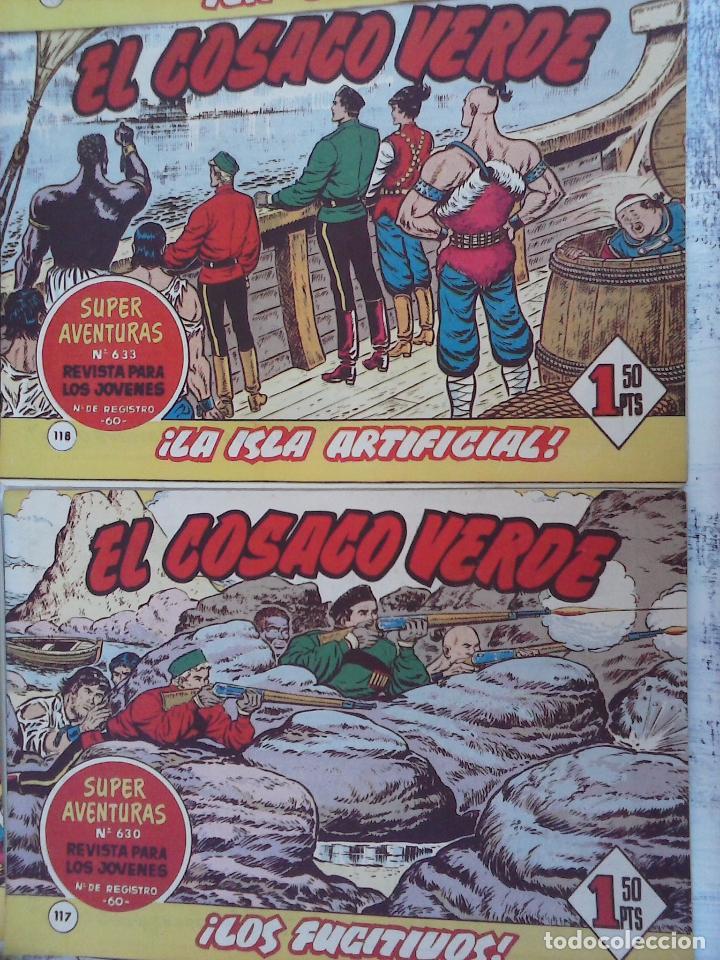 Tebeos: EL COSACO VERDE COMPLETA ORIGINAL Y SUELTA - 1 AL 144 , MAGNÍFICO ESTADO, VER TODAS LAS PORTADAS - Foto 205 - 94629439