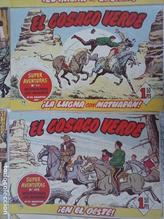 Tebeos: EL COSACO VERDE COMPLETA ORIGINAL Y SUELTA - 1 AL 144 , MAGNÍFICO ESTADO, VER TODAS LAS PORTADAS - Foto 207 - 94629439