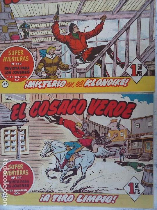 Tebeos: EL COSACO VERDE COMPLETA ORIGINAL Y SUELTA - 1 AL 144 , MAGNÍFICO ESTADO, VER TODAS LAS PORTADAS - Foto 209 - 94629439