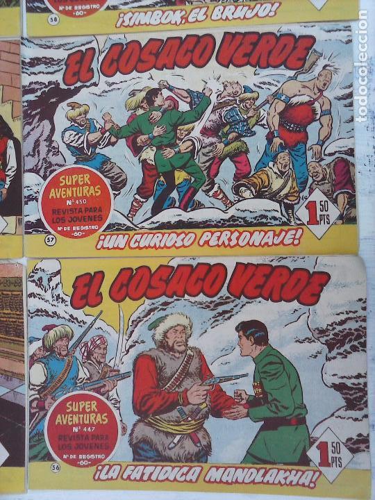 Tebeos: EL COSACO VERDE COMPLETA ORIGINAL Y SUELTA - 1 AL 144 , MAGNÍFICO ESTADO, VER TODAS LAS PORTADAS - Foto 211 - 94629439