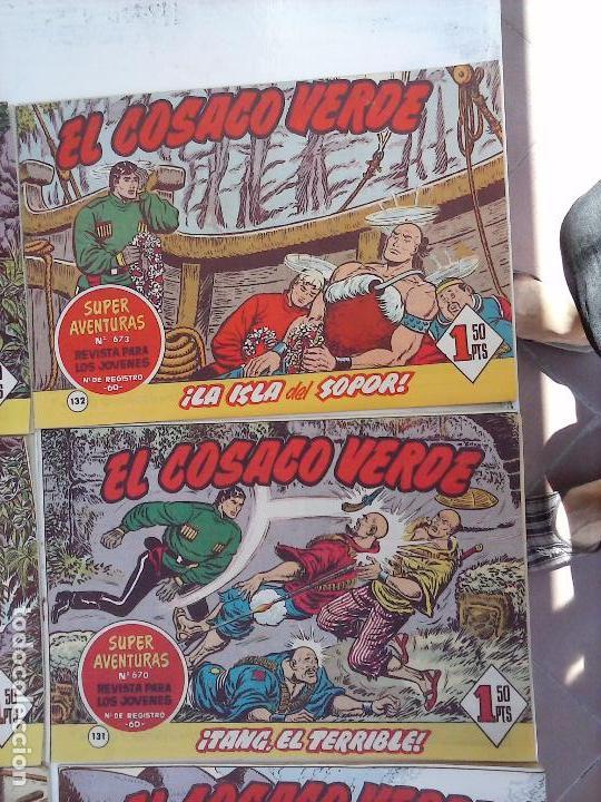 Tebeos: EL COSACO VERDE COMPLETA ORIGINAL Y SUELTA - 1 AL 144 , MAGNÍFICO ESTADO, VER TODAS LAS PORTADAS - Foto 213 - 94629439