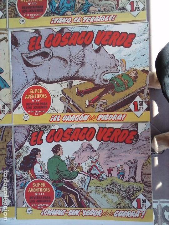 Tebeos: EL COSACO VERDE COMPLETA ORIGINAL Y SUELTA - 1 AL 144 , MAGNÍFICO ESTADO, VER TODAS LAS PORTADAS - Foto 215 - 94629439