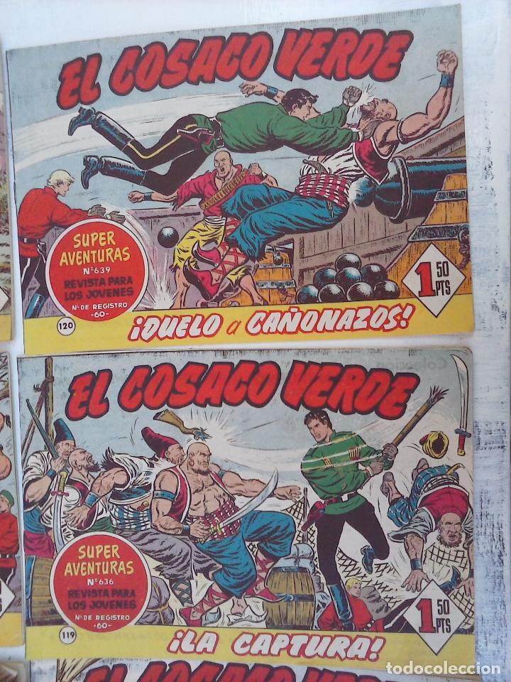 Tebeos: EL COSACO VERDE COMPLETA ORIGINAL Y SUELTA - 1 AL 144 , MAGNÍFICO ESTADO, VER TODAS LAS PORTADAS - Foto 216 - 94629439
