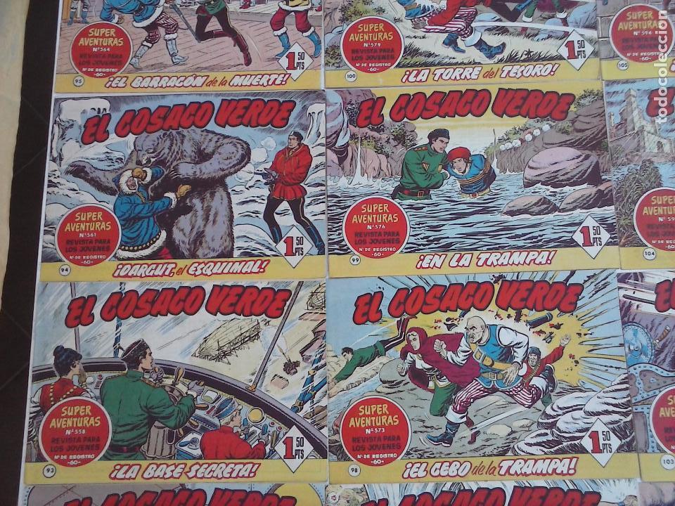 Tebeos: EL COSACO VERDE COMPLETA ORIGINAL Y SUELTA - 1 AL 144 , MAGNÍFICO ESTADO, VER TODAS LAS PORTADAS - Foto 219 - 94629439