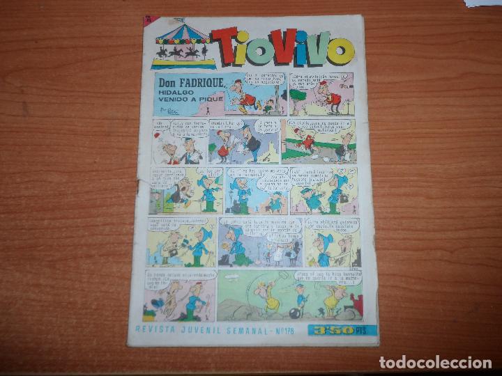 TIO VIVO - Nº 178 - EDITORIAL BRUGUERA (Tebeos y Comics - Bruguera - Tio Vivo)