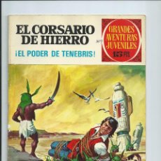 Tebeos: EL CORSARIO DE HIERRO Nº 13. GRANDES AVENTURAS JUVENILES. BRUGUERA. 1972. Lote 94711151