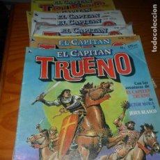 Tebeos: EL CAPITAN TRUENO REVISTA DEL 1 AL 12 -. Lote 94745131