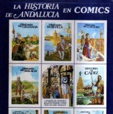Tebeos: LA HISTORIA DE ANDALUCIA EN COMICS --EDITORIAL ROASA --. Lote 94930911