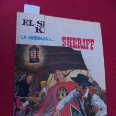 Tebeos: EL SHERIFF KING. Nº 4. LA AMENAZA DEL DRAGÓN. GRANDES AVENTURAS JUVENILES. BRUGUERA. 2ª EDICION.. Lote 95019315
