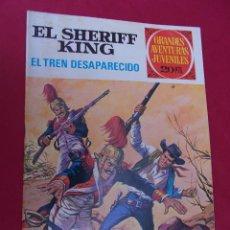 Tebeos: EL SHERIFF KING. Nº 6. EL TREN DESAPARECIDO. GRANDES AVENTURAS JUVENILES. BRUGUERA. 2ª EDICION.. Lote 95019575