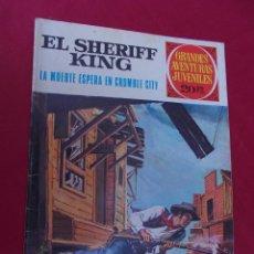 Tebeos: EL SHERIFF KING Nº 16 LA MUERTE ESPERA EN CRUMBLE CITY GRANDES AVENTURAS JUVENILES BRUGUERA 2ª EDI. Lote 95019667