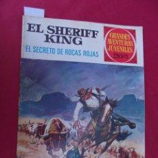 Tebeos: EL SHERIFF KING. Nº 21. EL SECRETO DE ROCAS ROJAS. GRANDES AVENTURAS JUVENILES. BRUGUERA. 2ª EDI. Lote 95019931