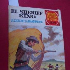 Tebeos: EL SHERIFF KING. Nº 30. LA SECTA DE LA MANDRÁGORA. GRANDES AVENTURAS JUVENILES. BRUGUERA. 2ª EDI. Lote 95019991