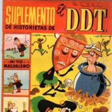 Tebeos: SUPLEMENTO DE HISTORIETAS DE EL DDT. Nº 21. AÑOS 50. Lote 95057427