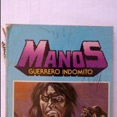 Tebeos: MANOS GUERRERO INDOMITO, SELECCION 1, Nº 1-2-3-4-5-6, BRUGUERA. Lote 95057735