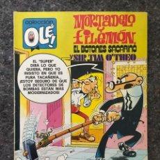 Tebeos: COLECCIÓN OLÉ 186 - MORTADELO Y FILEMÓN - 1ª EDICIÓN 1979. Lote 95063463