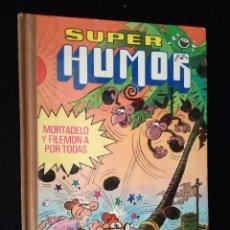 Tebeos: LIBRO COMIC TEBEO SUPER HUMOR MORTADELO Y FILEMÓN BRUGUERA VOLUMEN 11, XI. AÑO 1979. Lote 95073563