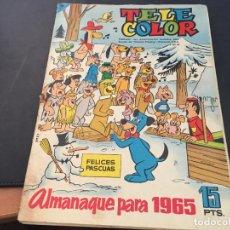 Tebeos: TELE COLOR ALMANAQUE 1965 (ED. BRUGUERA) (COI34). Lote 95086295