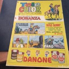 Tebeos: TELE COLOR Nº 206 BONANZA (ED. BRUGUERA) (COI34). Lote 95087099