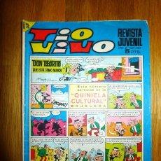 Tebeos: TÍO VIVO : REVISTA JUVENIL. AÑO XI ; 26 DE FEBRERO DE 1968 ; Nº 364 ; ÉPOCA 2ª. Lote 95147507