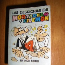 Tebeos: LAS DESDICHAS DE MORTADELO Y FILEMÓN. MINI INFANCIA 1971. 1ª EDICIÓN. Lote 95153591