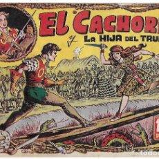 Tebeos: EL CACHORRO Nº 13, IRANZO. EDITORIAL BRUGUERA, ORIGINAL 1.951. EL CACHORRO Y LA HIJA DEL TRUENO. Lote 95212563