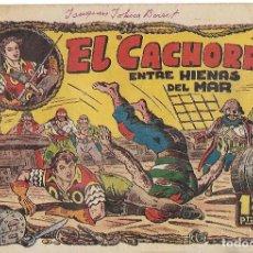 Tebeos: EL CACHORRO Nº 36, IRANZO. EDITORIAL BRUGUERA, ORIGINAL 1952. EL CACHORRO ENTRE HIENAS DEL MAR. Lote 95212979